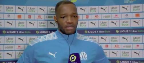 Mandanda n'y est pas allé par quatre chemin en interview d'après match - ©capture d'écran vidéo Téléfoot