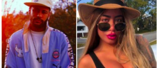 Neymar pourrait aller à l'anniversaire de sa soeur - Photo montage Instagram