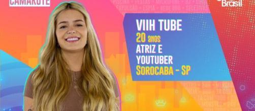 """No 'BBB21', Viih Tube já teve seu nome envolvido em polêmicas e acabou """"cancelada"""" na web. (Arquivo Blasting News)"""