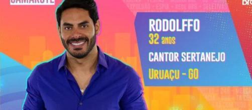Rodolfo já foi casado com Rafa Kalimann. (Reprodução/TV Globo)