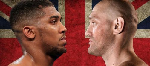 Anthony Joshua vs Tyson Fury: l'atteso match mondiale potrebbe disputarsi a giugno.