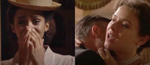 Una vita, trame spagnole: Marcia sta male dopo aver visto l'avvocato insieme a Genoveva.