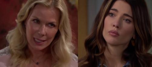 Beautiful trame Usa: Brooke furiosa si scaglia contro Steffy per il tradimento con Liam.