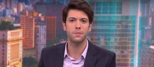 Caio Copolla está no quadro 'Liberdade de Opinião', da CNN Brasil. (Reprodução/CNN)