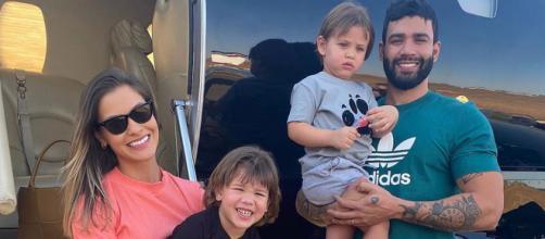 Gusttavo Lima e Andressa Suita estão separados desde outubro. (Arquivo Blasting News)