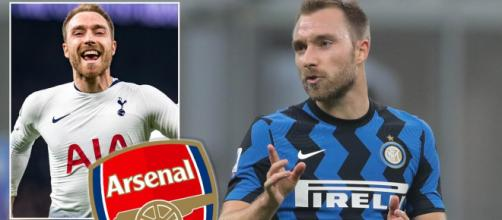Inter, svolta per Eriksen all'Arsenal.