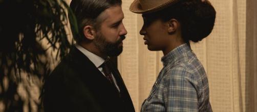 Una Vita, anticipazioni iberiche: Felipe in intimità con Genoveva, Sampaio ha un malore.