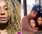 A ex-esposa do cantor usou o stories para dizer que tinha sido agredida. (Fotomontagem)