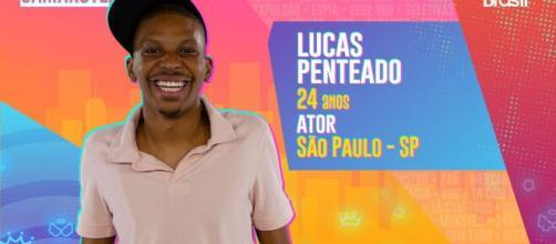 'BBB21': ator Lucas Penteado está no Camarote. (Reprodução/TV Globo)