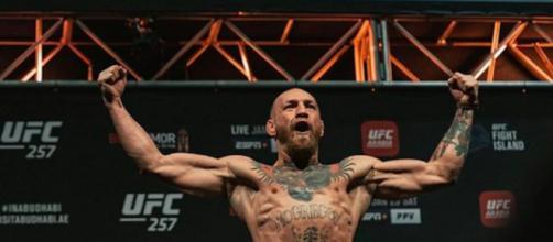 Conor McGregor, légendaire superstar du MMA revient sur le ring. ©thenotoriousmma Instagram