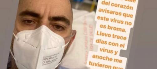Diego Arrabal ingresado por COVID