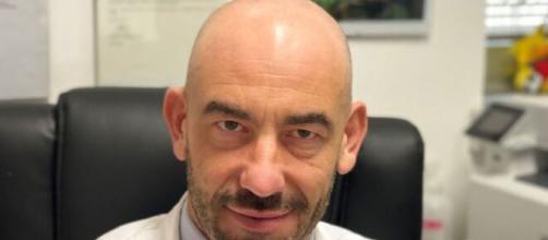 L'infettivologo del San Martino di Genova Matteo Bassetti. (Photo Facebook)