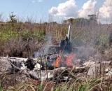 Avião cai no Tocantins. (Foto: Divulgação)