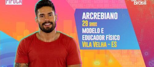 'BBB21': Arcrebiano faz parte do Pipoca. (Reprodução/TV Globo)