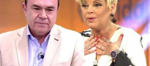 Terelu Campos y Juan Luis Galiacho muestran en público su complicidad