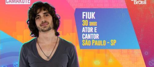 'BBB21': Fiuk é um dos imunizados. (Reprodução/TV Globo)