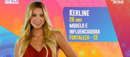 'BBB21': Kerline Cardoso é anunciada como participante. (Reprodução/TV Globo)