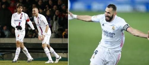 Benzema à l'OL, son ancien agent annonce une grosse avancée et enflamme les Lyonnais. Photo montage