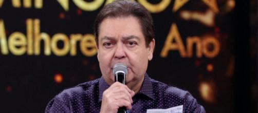 Fausto Silva deixa a Globo no fim de 2021. (Arquivo Blasting News)