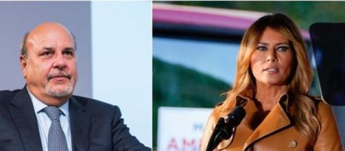 Matteo Salvini critica Alan Friedman dopo gli insulti a Melania Trump.