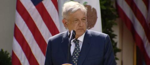Mexican President López Obrador tests positive For COVID-19. [© Yahoo Finance/YouTube]