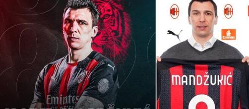 Milan confirmou o centroavante croata com a 9. (Arquivo Blasting News)