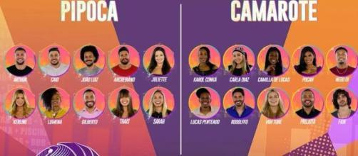 """Muitos membros do Camarote do """"BBB21"""" já se conhecem. (Divulgação/TV Globo)"""