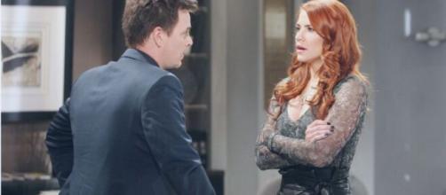 Beautiful, trame Usa: Sally scambia Wyatt per Liam, lui la lascia e torna insieme a Flo.