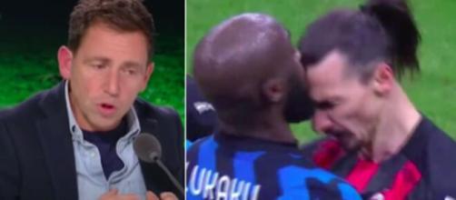 Daniel Riolo se fait détruire sur Twitter après ses propos concernant Ibrahimovic et Lukaku - Photo montage