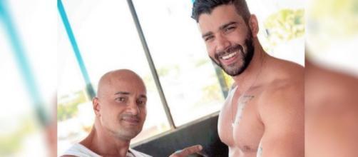 Marcão era treinador físico de Gusttavo Lima. (Reprodução/Instagram)