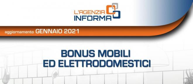 Bonus mobili 2021: aumenta a 16.000 Euro l'importo massimo di spesa agevolabile