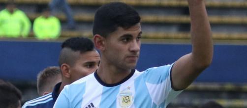 Cristian Romero, difensore dell'Atalanta.