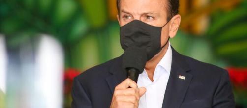 Doria pede compreensão nas medidas de restrição que devem ser mais rígidas no Estado de São Paulo. (Arquivo Blasting News)