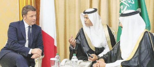 Matteo Renzi prenderebbe 80mila euro l'anno da un istituto dell'Arabia Saudita.