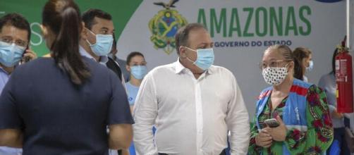 MPF investiga Pazuello por improbidade administrativa. (Caio de Biasi/Ministério da Saúde)