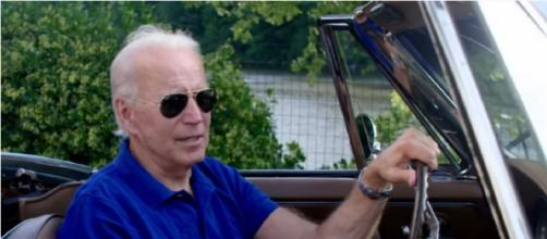 President Joe Biden and his plan for the electric cars. [©Alex Sibila YouTube video]