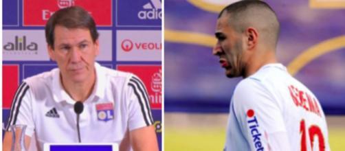 Rudi Garcia calme les Lyonnais concernant le recrutement de KB9 - ©capture d'écran Twitter OL et actu foot