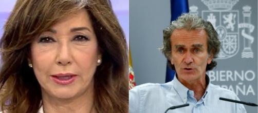 Ana Rosa y Fernando Simón en imagen