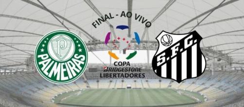 Palmeiras x Santos terá transmissão ao vivo no SBT. (Arquivo Blasting News)