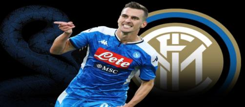 L'Inter prova l'affondo per Milik.