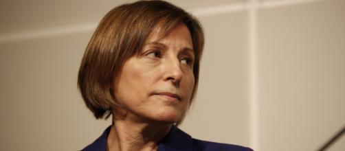 La ex presidenta del Parlament ha hecho un llamado a la participación en las próximas elecciones.