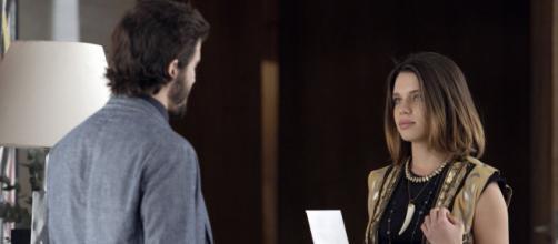 Cibele e Ruy em confronto em 'A Força do Querer'. (Reprodução/Rede Globo)