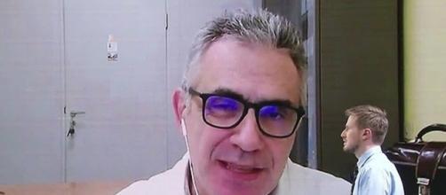 Fabrizio Pregliasco ospite di Tagadà.