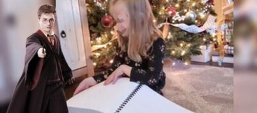 La obra Harry Potter, en braille, fue el mejor regalo para una niña estas Navidades