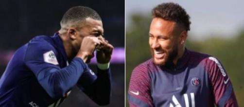 Le XI des lecteurs l'Equipe dévoilé, les internautes réagissent - Photo Instagram Mbappe et Neymar