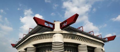 Lo stadio di San Siro a Milano.