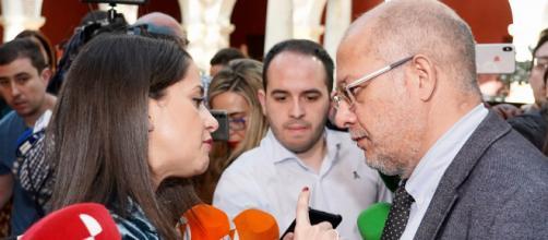 Inés Arrimadas califica de indigna la postura de Igea por avivar disputas en Ciudadanos