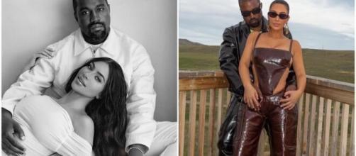 Kim Kardashian et Kanye West sont mariés depuis 6 ans - Source : montage Instagram @KimKardashian