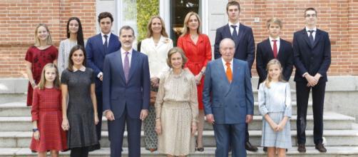 Una foto de la familia Borbón completa. Sólo faltan Jaime de Marichalar (divorciado) e Iñaki Urdangarin (preso).