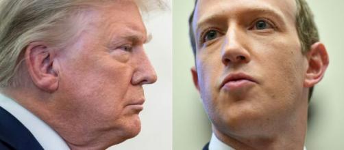 Facebook e Instagram bloquean a Trump indefinidamente.
